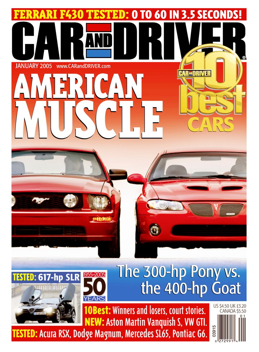 Going Millennial: The Car and Driver Covers of the 2000s and 2010s - Slide 62
