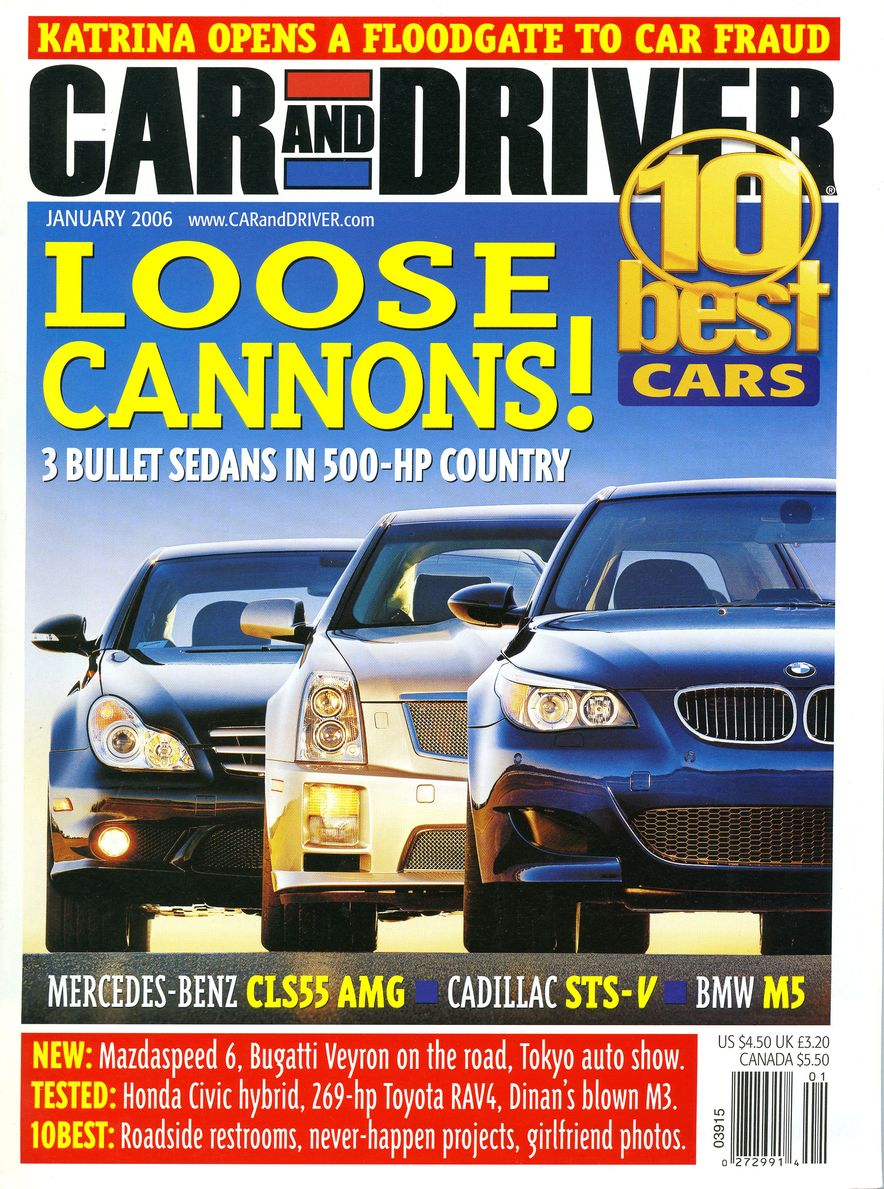 Going Millennial: The Car and Driver Covers of the 2000s and 2010s - Slide 74