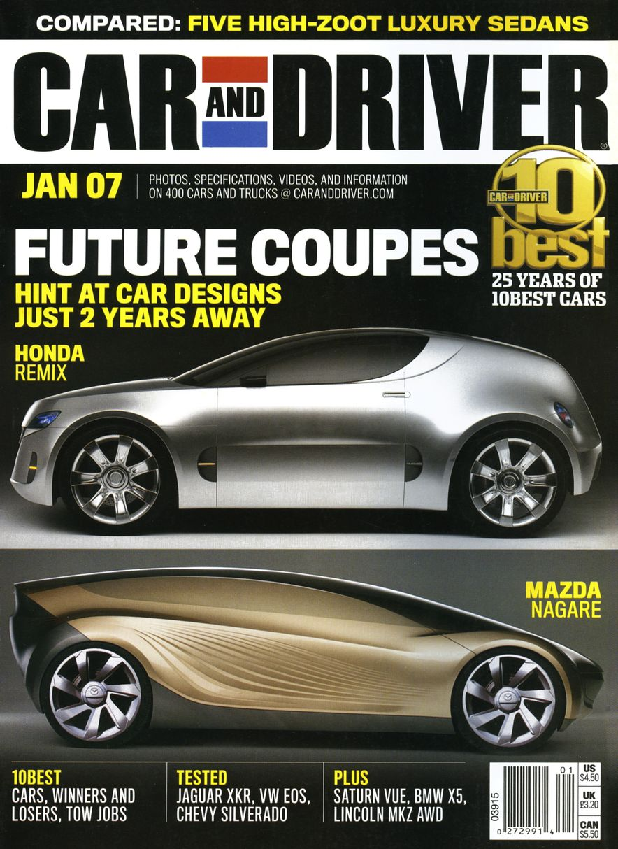 Going Millennial: The Car and Driver Covers of the 2000s and 2010s - Slide 86