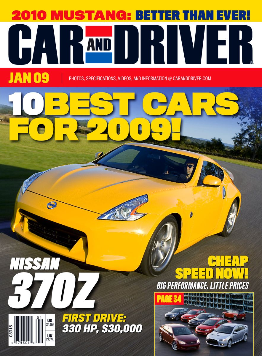Going Millennial: The Car and Driver Covers of the 2000s and 2010s - Slide 110