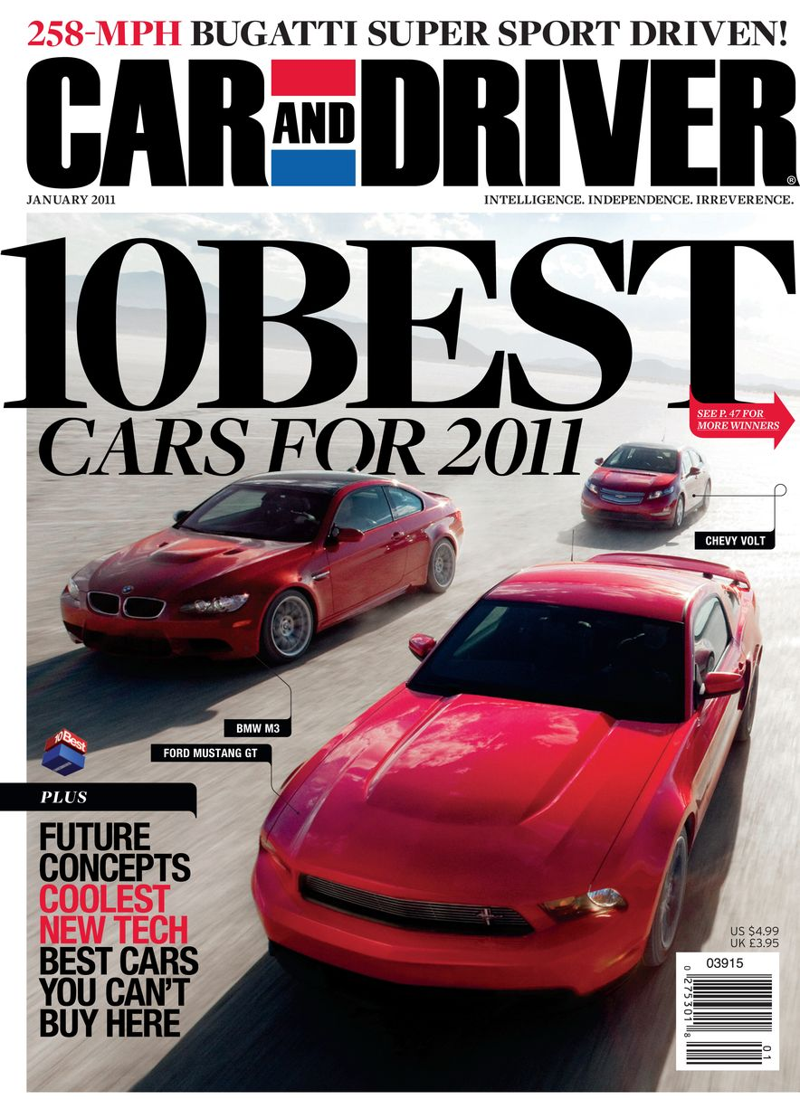 Going Millennial: The Car and Driver Covers of the 2000s and 2010s - Slide 134