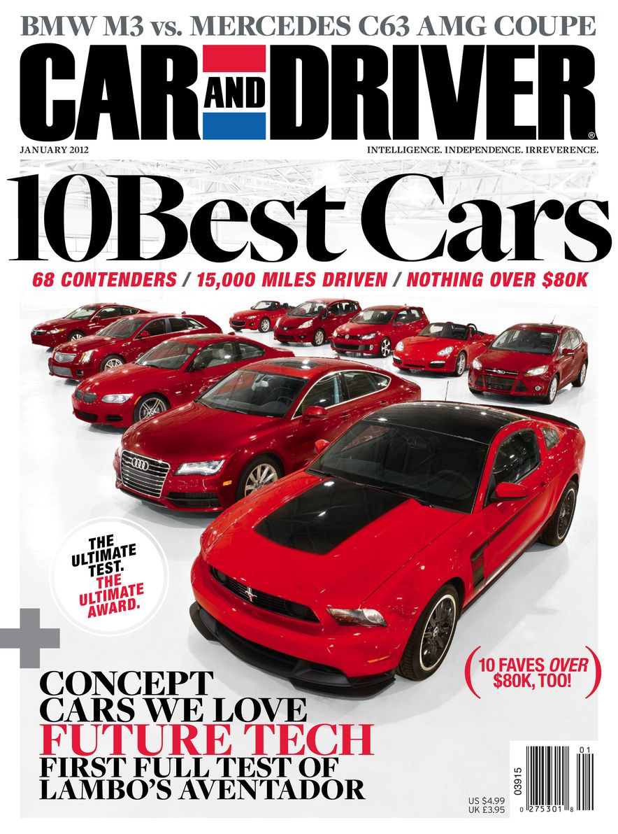 Going Millennial: The Car and Driver Covers of the 2000s and 2010s - Slide 146