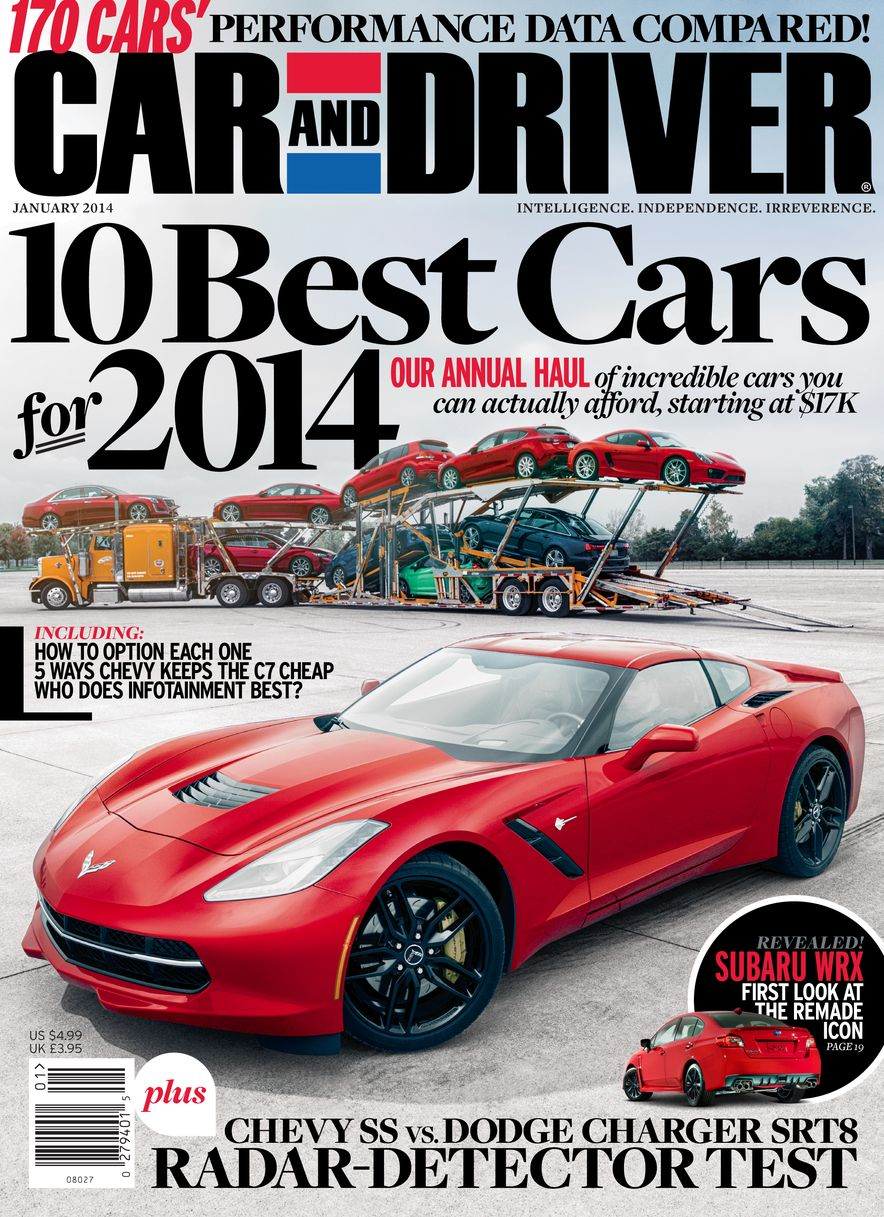 Going Millennial: The Car and Driver Covers of the 2000s and 2010s - Slide 170
