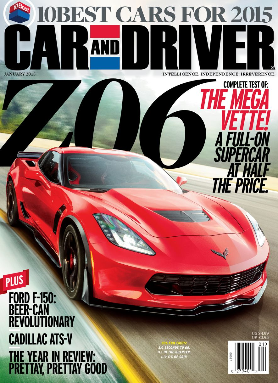 Going Millennial: The Car and Driver Covers of the 2000s and 2010s - Slide 182