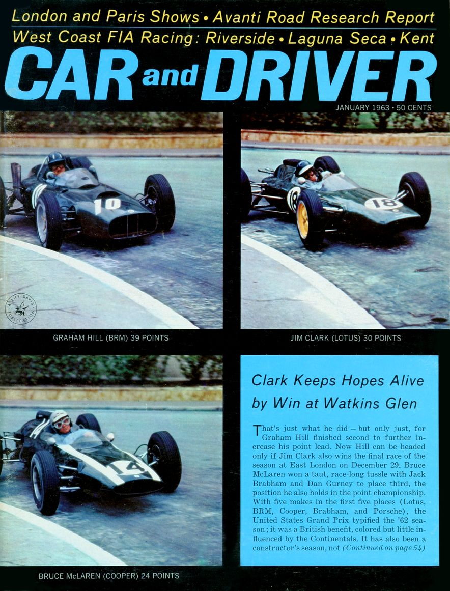 Getting Groovy and into the Groove: The Car and Driver Covers of the 1960s - Slide 38