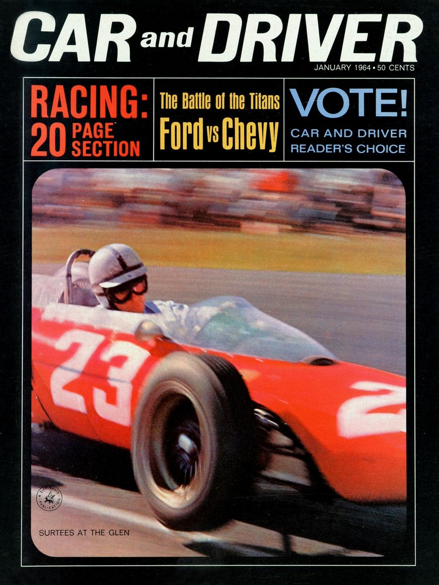 Getting Groovy and into the Groove: The Car and Driver Covers of the 1960s - Slide 50