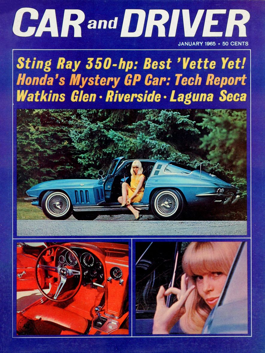 Getting Groovy and into the Groove: The Car and Driver Covers of the 1960s - Slide 62