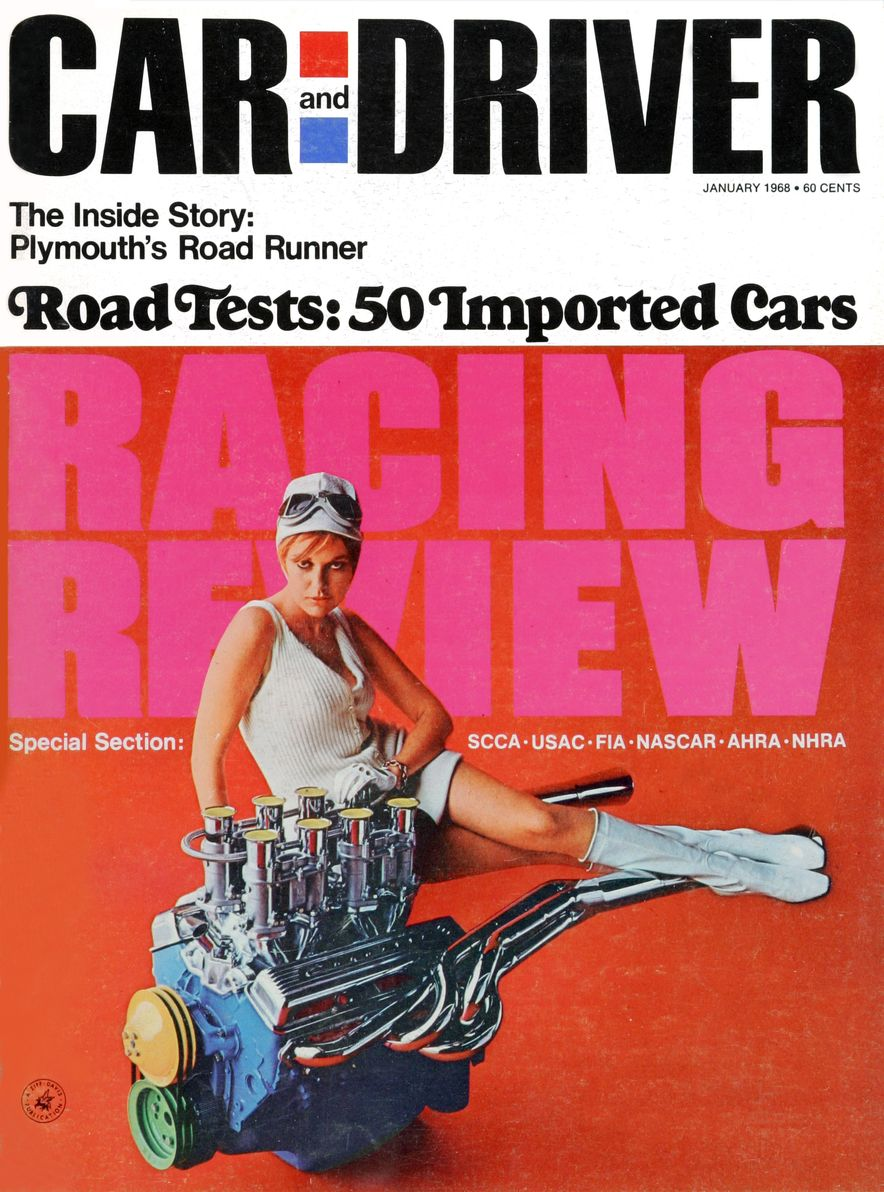 Getting Groovy and into the Groove: The Car and Driver Covers of the 1960s - Slide 98
