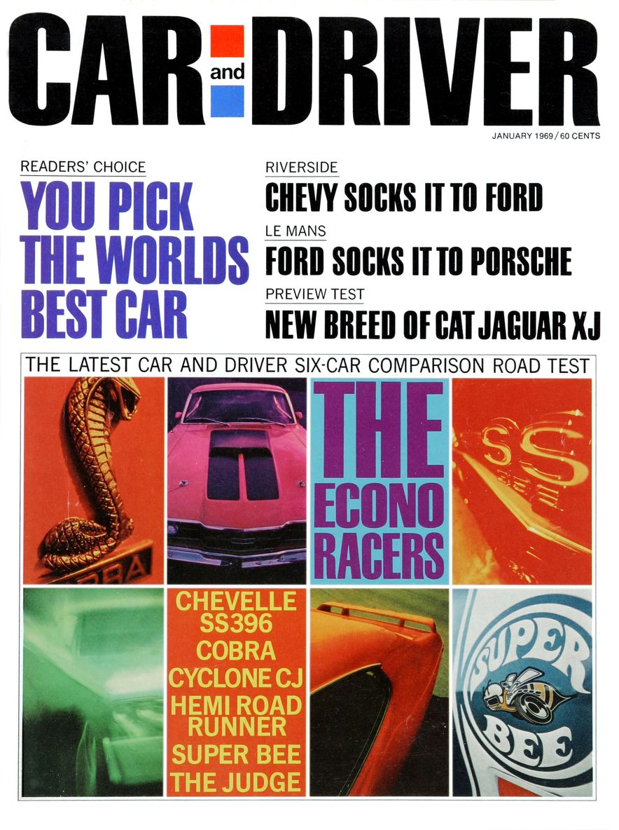 Getting Groovy and into the Groove: The Car and Driver Covers of the 1960s - Slide 110