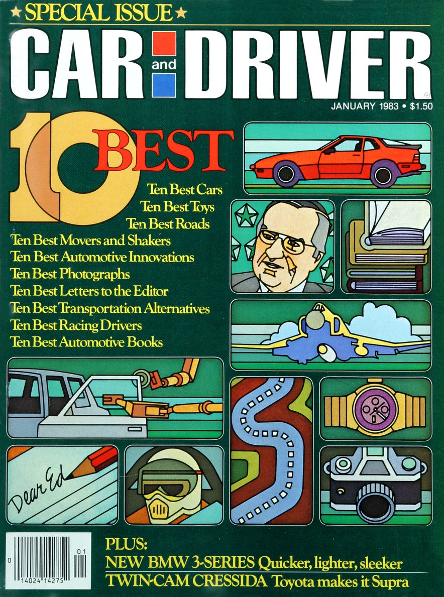 Like, Totally Rad: The Car and Driver Covers of the 1980s - Slide 38