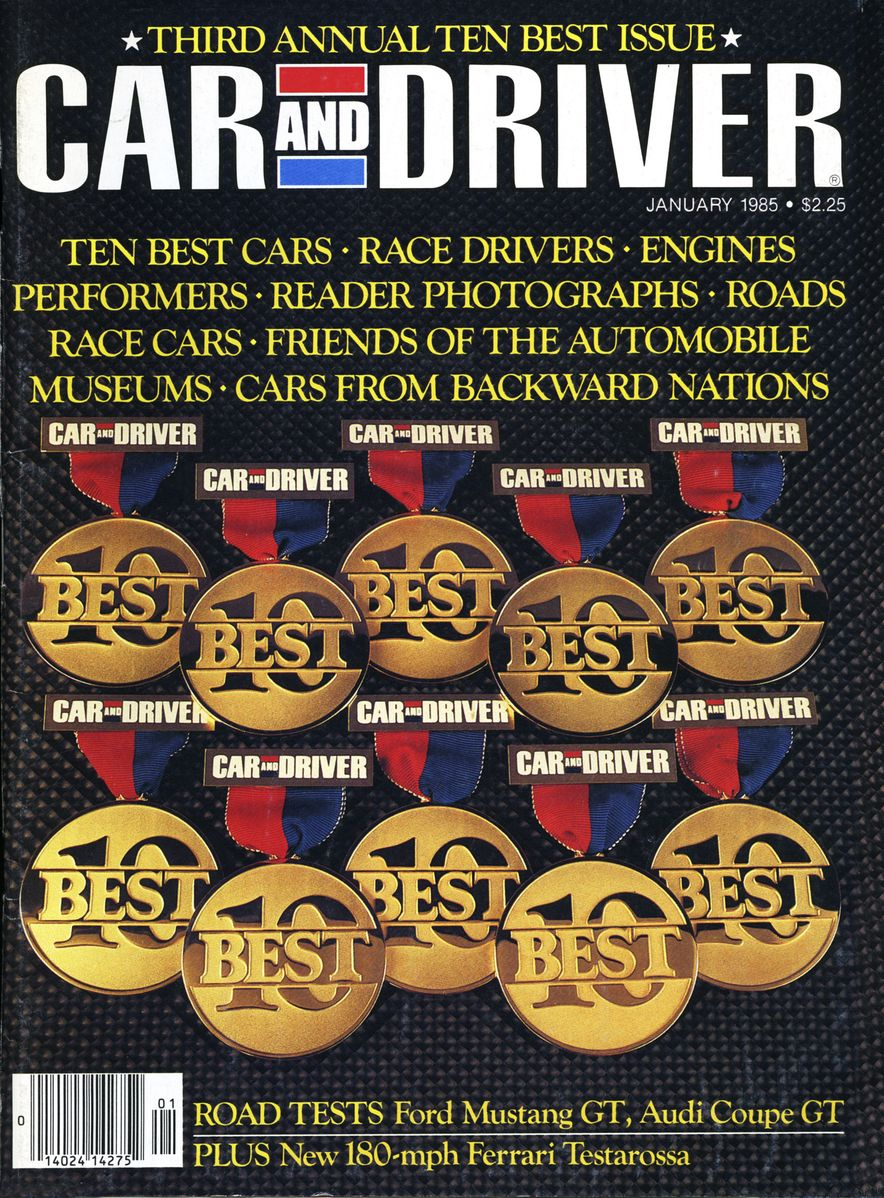 Like, Totally Rad: The Car and Driver Covers of the 1980s - Slide 62