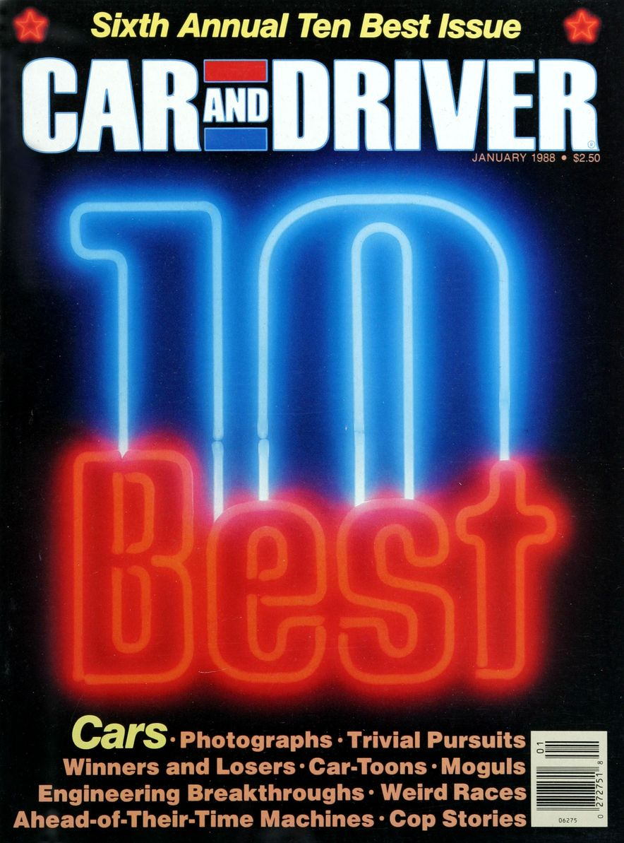 Like, Totally Rad: The Car and Driver Covers of the 1980s - Slide 98