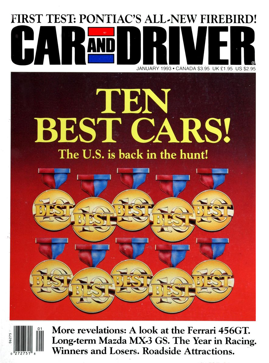 Formula C/D: The Car and Driver Covers of the 1990s - Slide 38