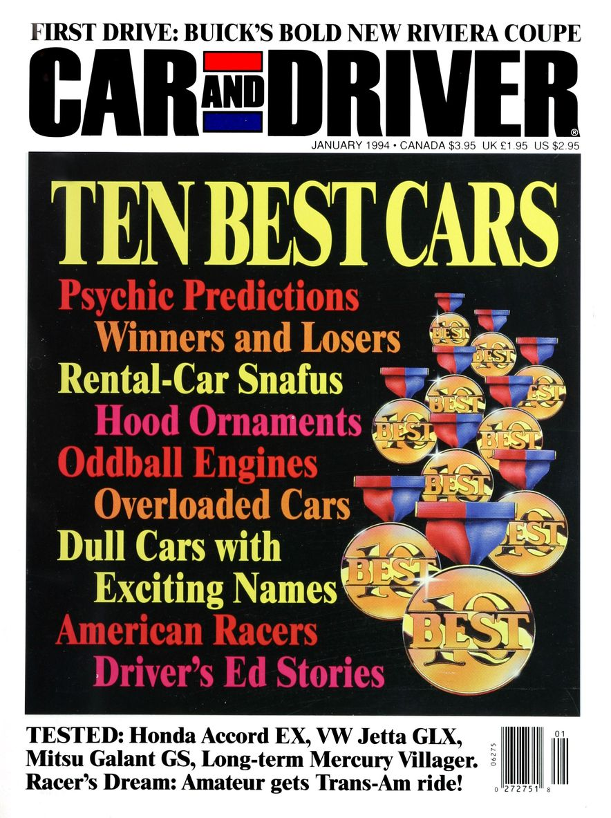 Formula C/D: The Car and Driver Covers of the 1990s - Slide 50