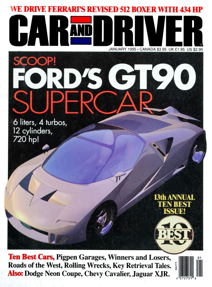 Formula C/D: The Car and Driver Covers of the 1990s - Slide 62