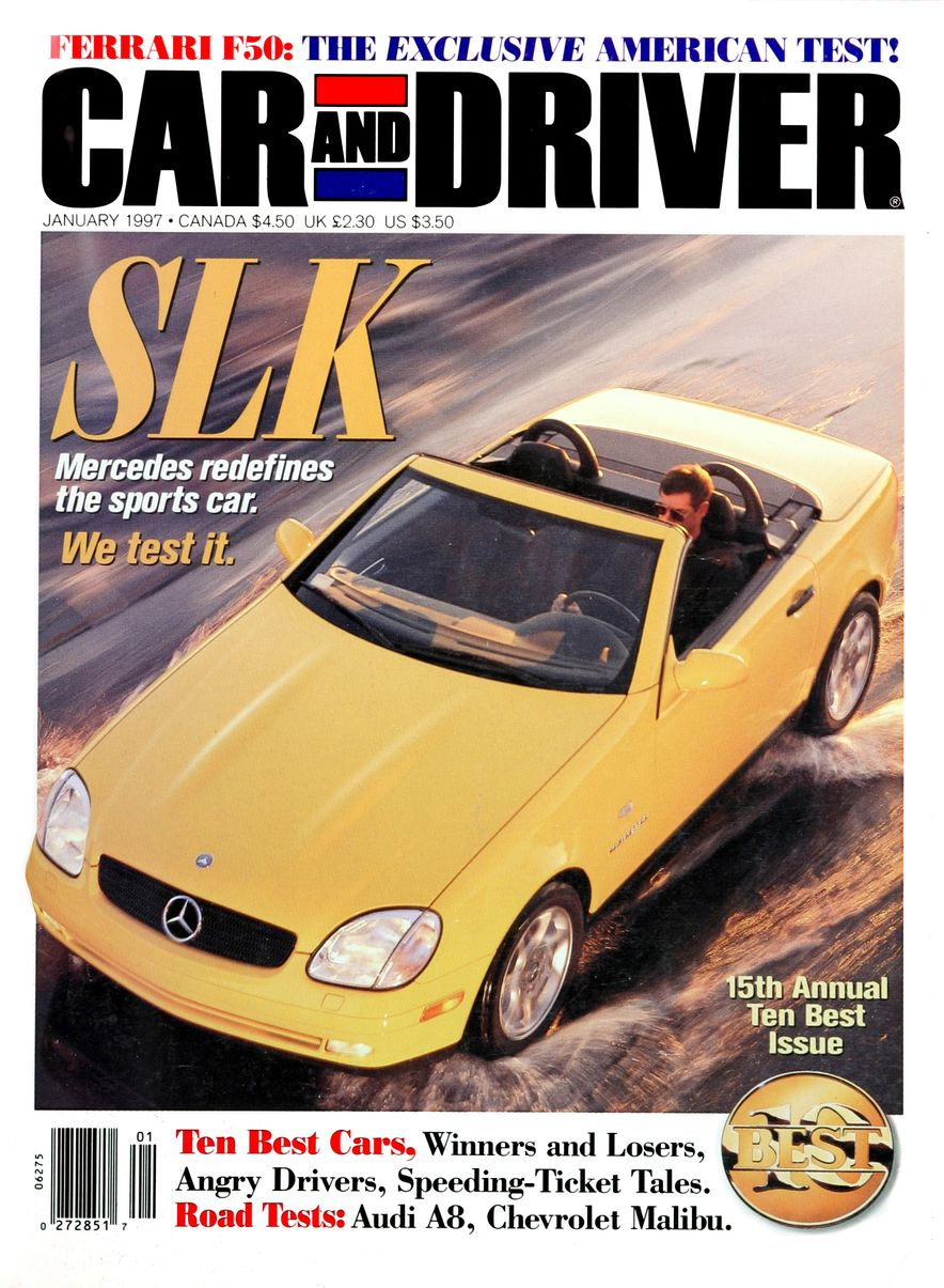 Formula C/D: The Car and Driver Covers of the 1990s - Slide 86
