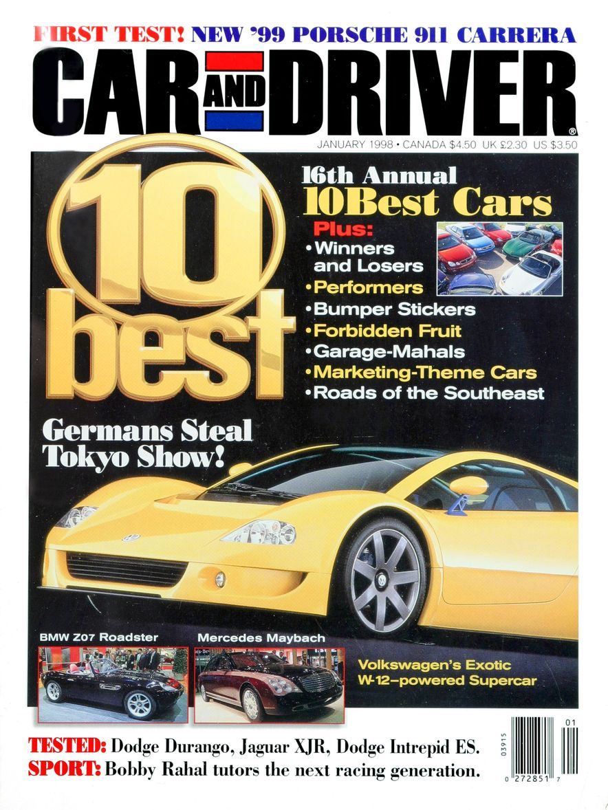Formula C/D: The Car and Driver Covers of the 1990s - Slide 98