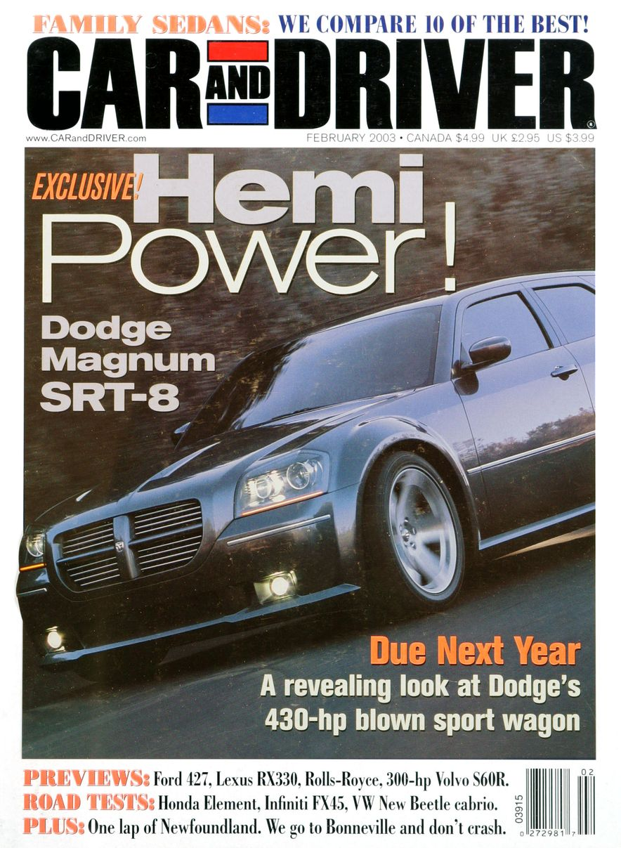 Going Millennial: The Car and Driver Covers of the 2000s and 2010s - Slide 39