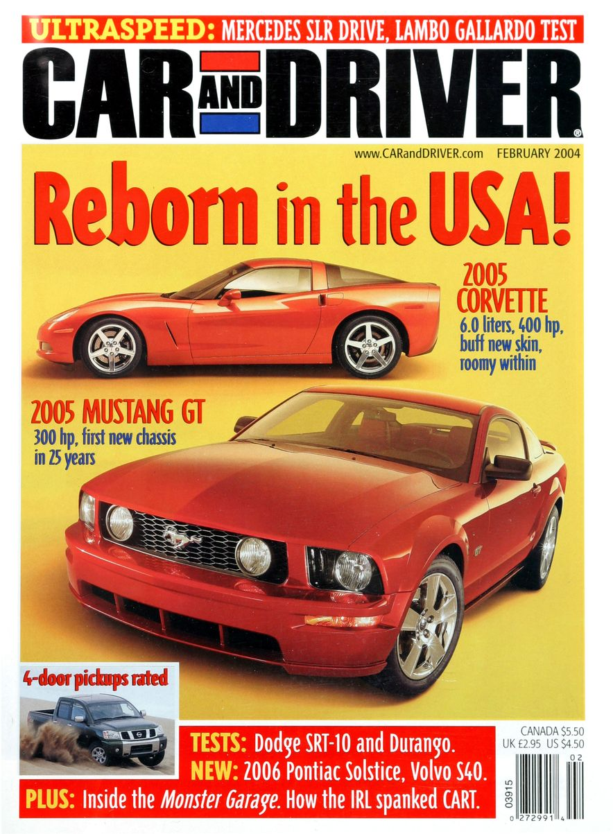 Going Millennial: The Car and Driver Covers of the 2000s and 2010s - Slide 51