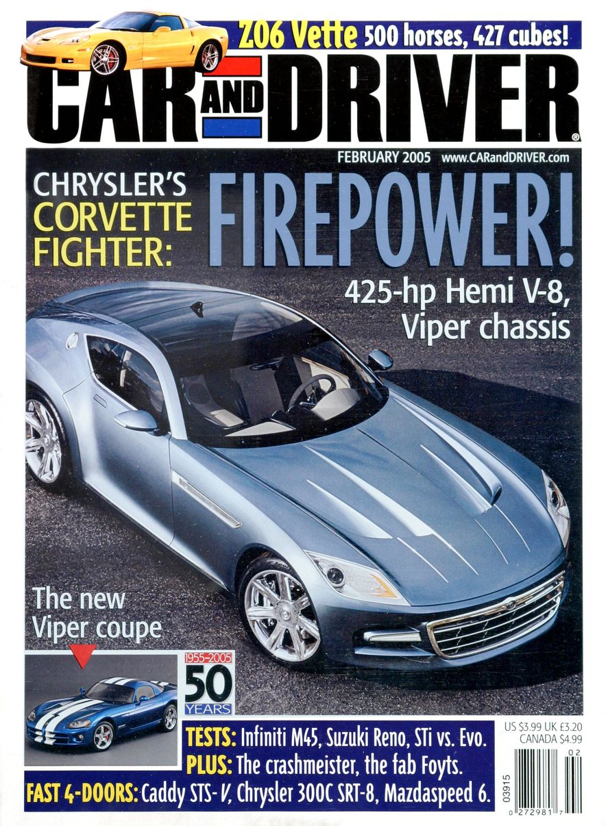 Going Millennial: The Car and Driver Covers of the 2000s and 2010s - Slide 63