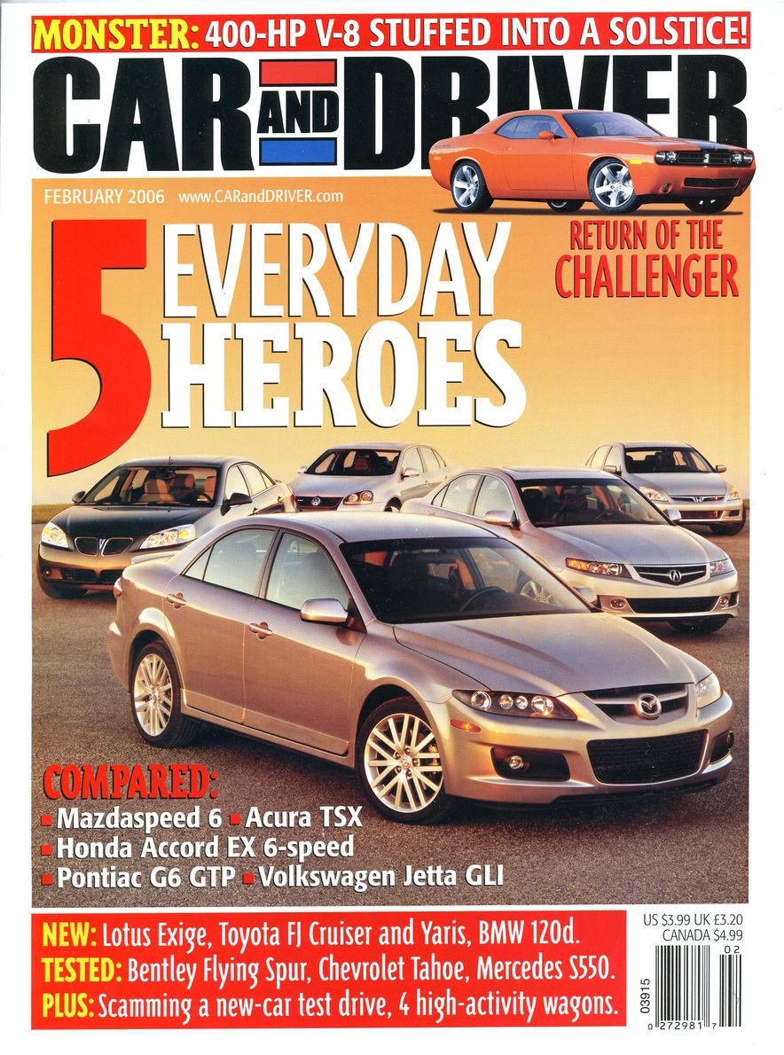 Going Millennial: The Car and Driver Covers of the 2000s and 2010s - Slide 75