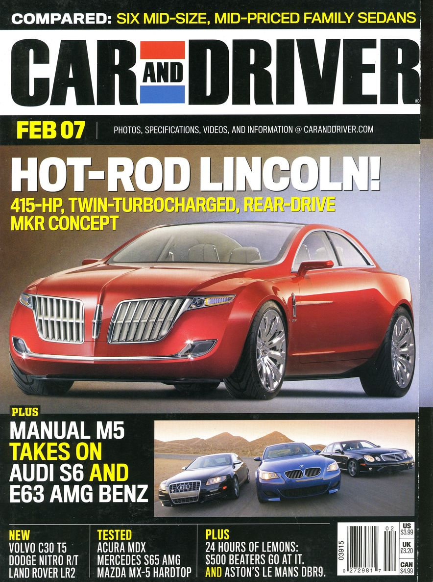 Going Millennial: The Car and Driver Covers of the 2000s and 2010s - Slide 87