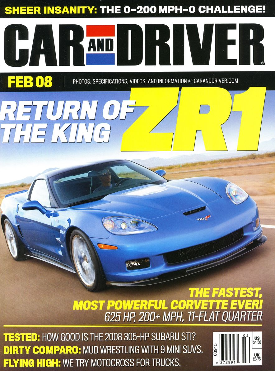 Going Millennial: The Car and Driver Covers of the 2000s and 2010s - Slide 99