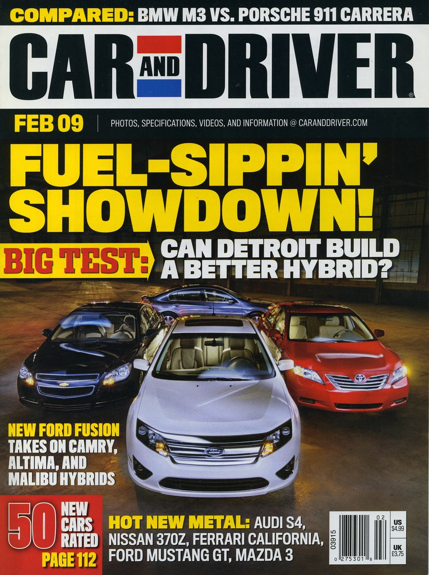 Going Millennial: The Car and Driver Covers of the 2000s and 2010s - Slide 111