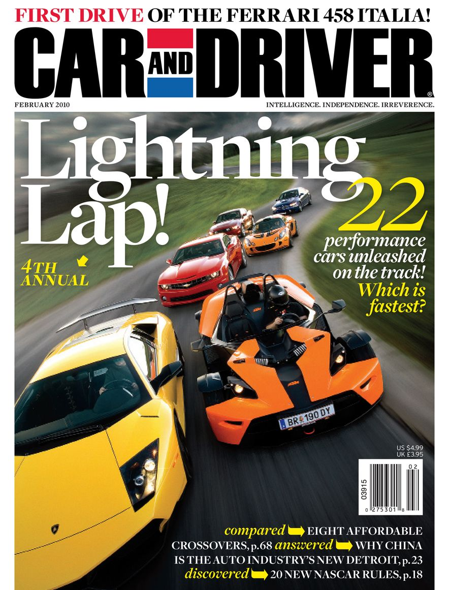 Going Millennial: The Car and Driver Covers of the 2000s and 2010s - Slide 123