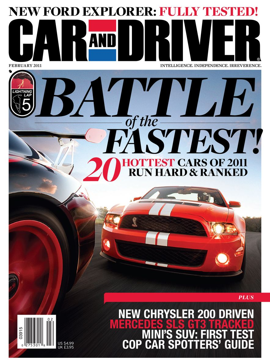 Going Millennial: The Car and Driver Covers of the 2000s and 2010s - Slide 135