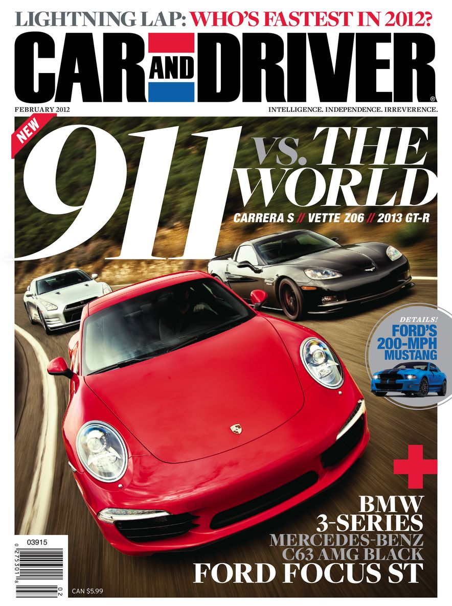 Going Millennial: The Car and Driver Covers of the 2000s and 2010s - Slide 147