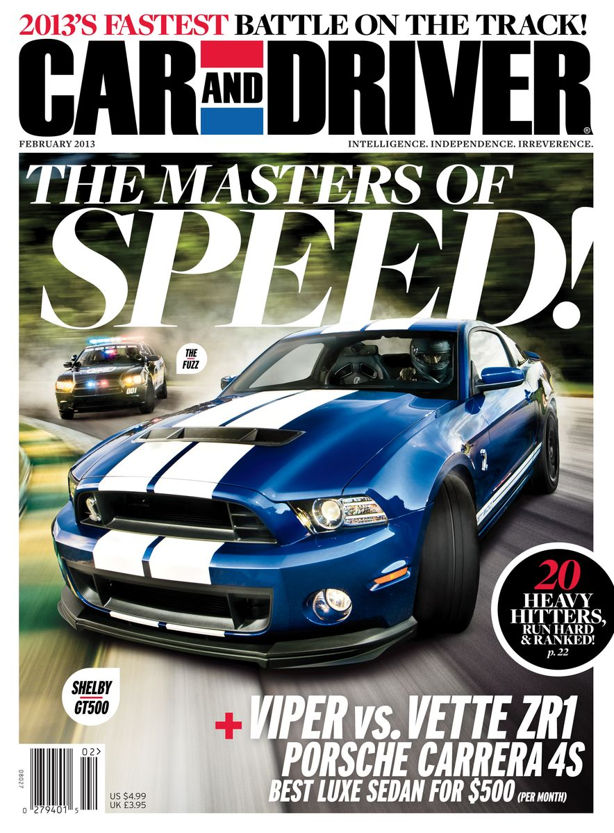 Going Millennial: The Car and Driver Covers of the 2000s and 2010s - Slide 159