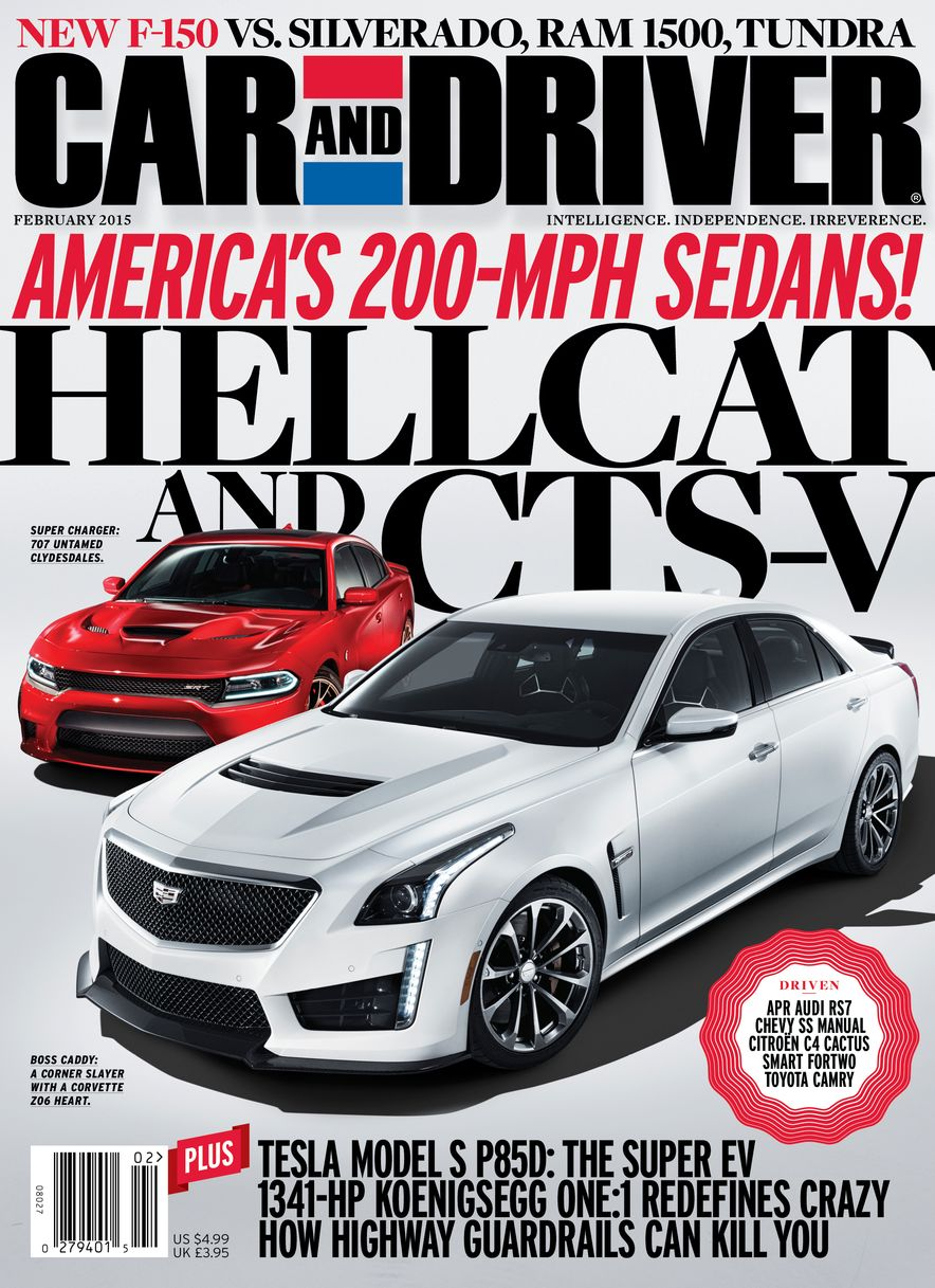 Going Millennial: The Car and Driver Covers of the 2000s and 2010s - Slide 183