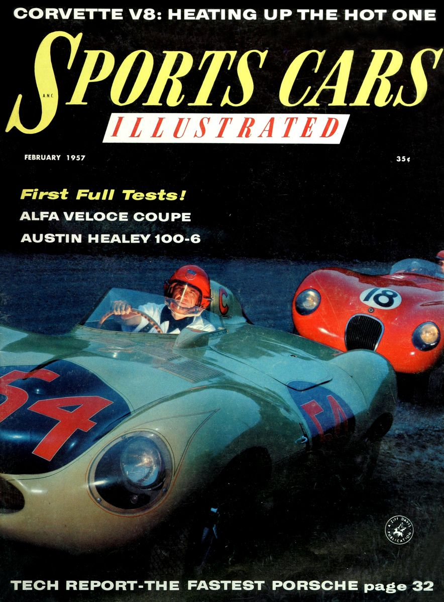 When We Were Young: The Car and Driver/Sports Cars Illustrated Covers of the 1950s - Slide 21