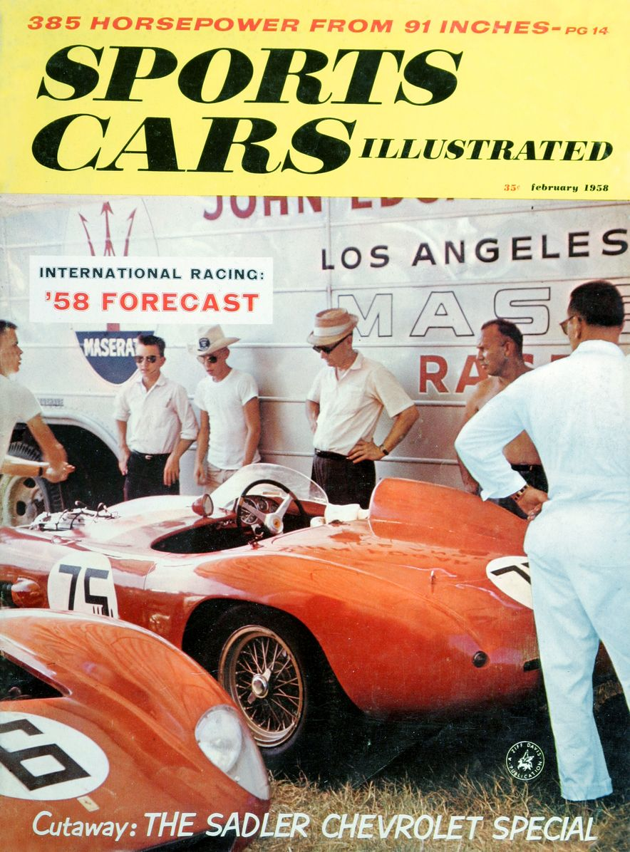 When We Were Young: The Car and Driver/Sports Cars Illustrated Covers of the 1950s - Slide 33