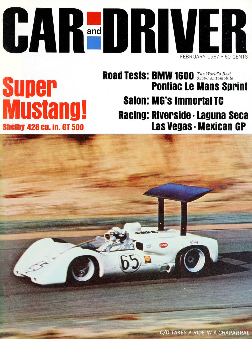 Getting Groovy and into the Groove: The Car and Driver Covers of the 1960s - Slide 87
