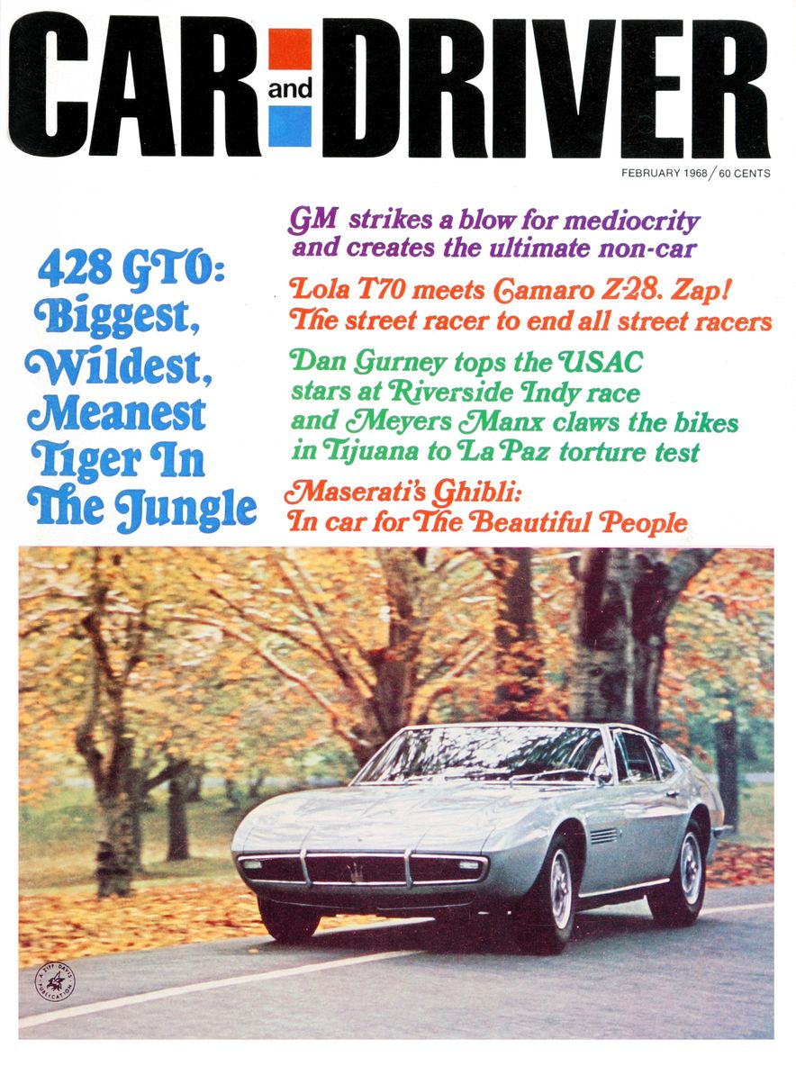Getting Groovy and into the Groove: The Car and Driver Covers of the 1960s - Slide 99