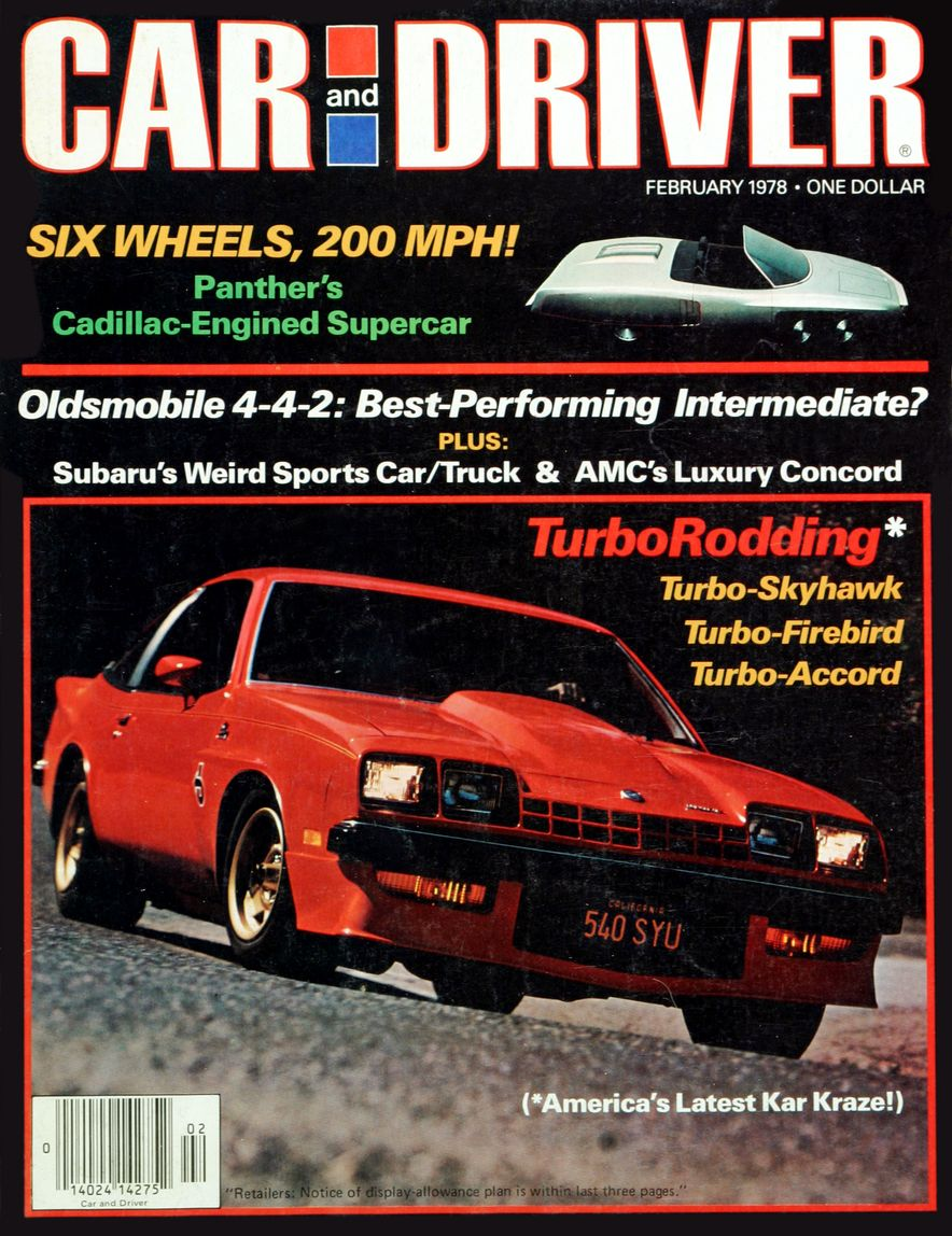 The Us Decade: The Car and Driver Covers of the 1970s - Slide 99