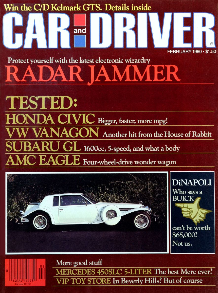 Like, Totally Rad: The Car and Driver Covers of the 1980s - Slide 3