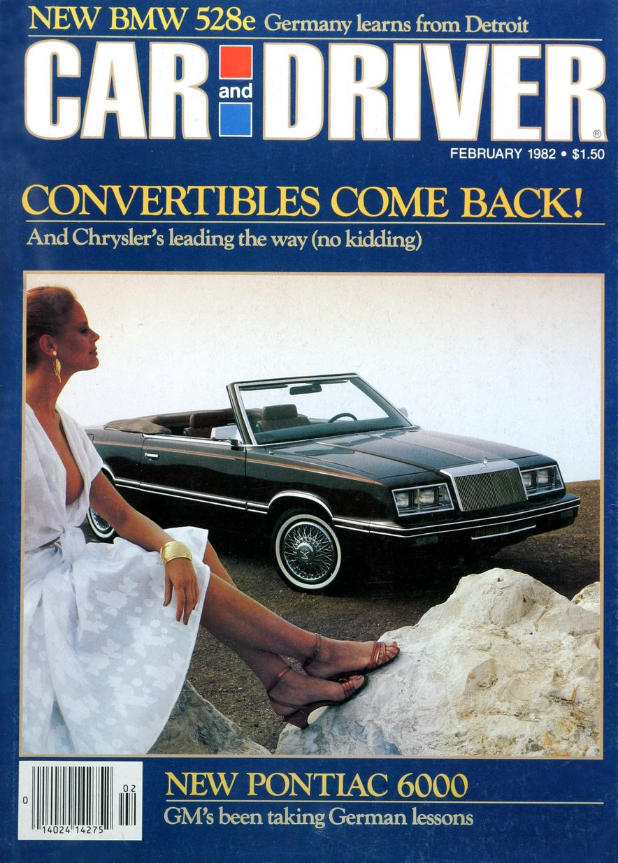 Like, Totally Rad: The Car and Driver Covers of the 1980s - Slide 27