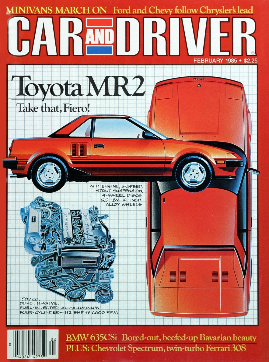 Like, Totally Rad: The Car and Driver Covers of the 1980s - Slide 63