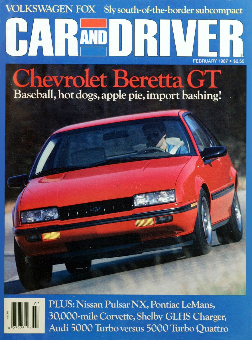 Like, Totally Rad: The Car and Driver Covers of the 1980s - Slide 87