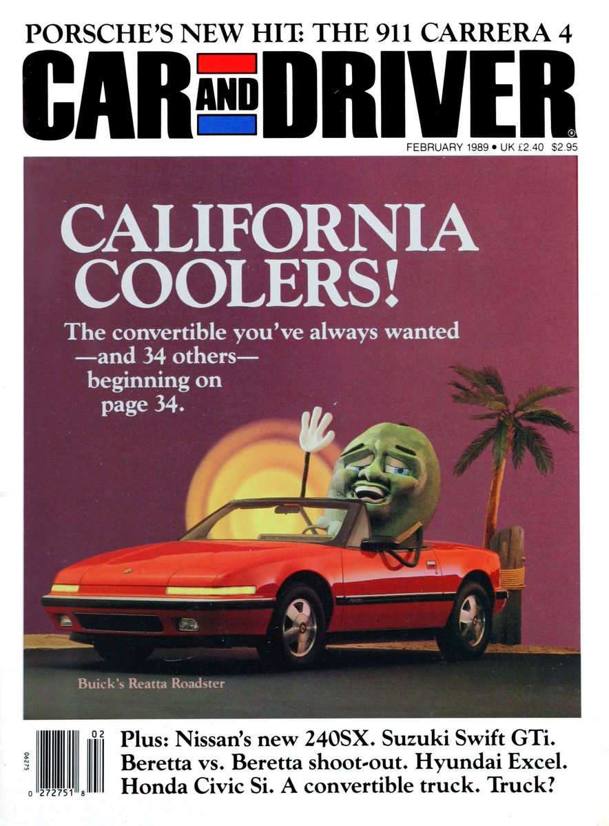 Like, Totally Rad: The Car and Driver Covers of the 1980s - Slide 111