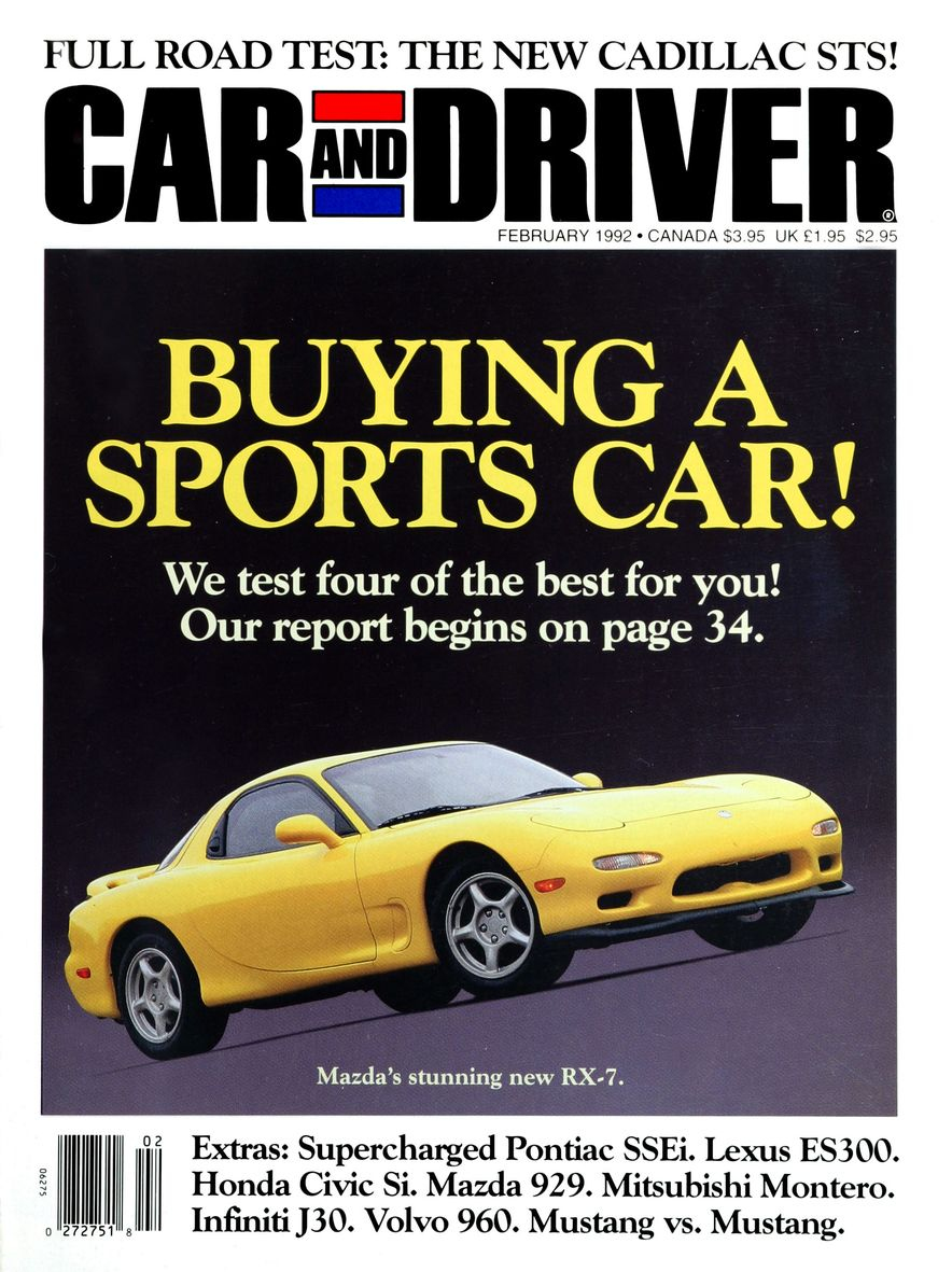Formula C/D: The Car and Driver Covers of the 1990s - Slide 27