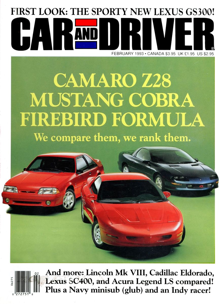 Formula C/D: The Car and Driver Covers of the 1990s - Slide 39