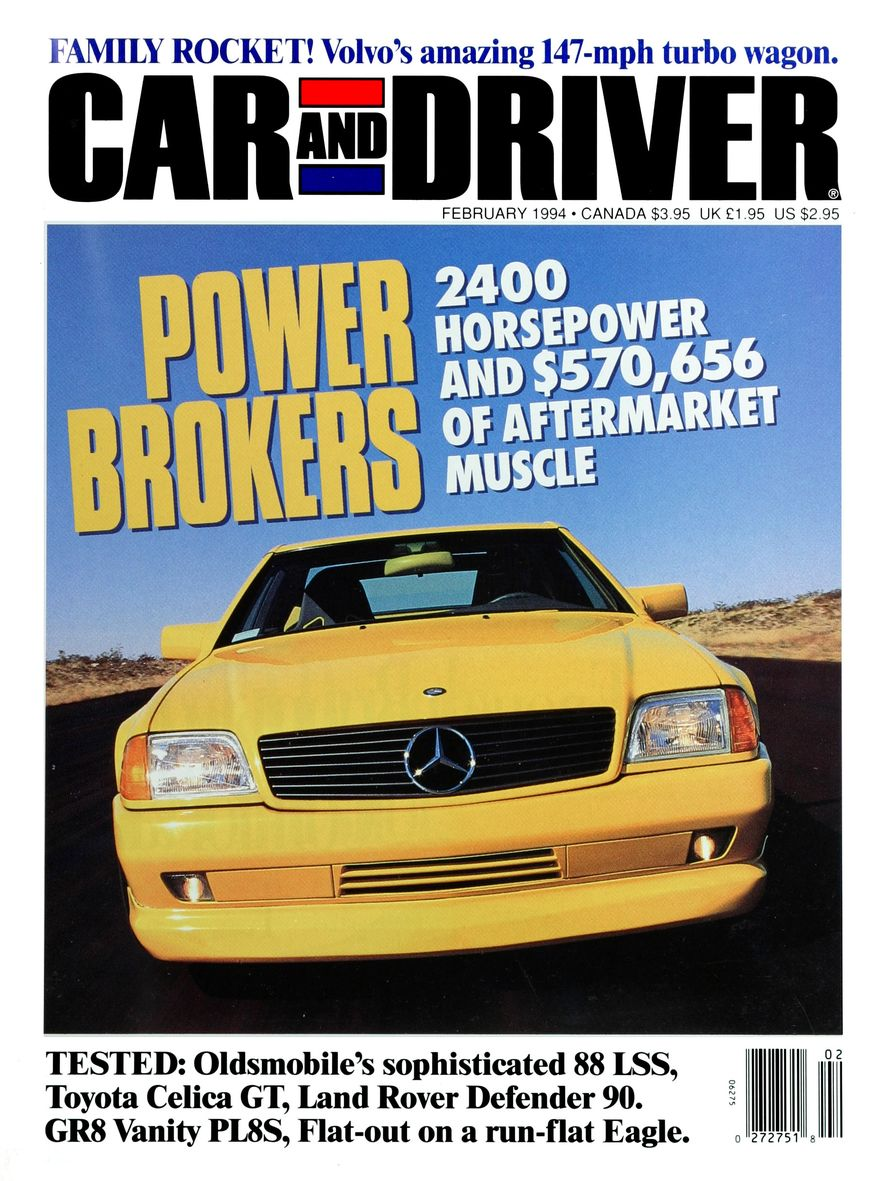 Formula C/D: The Car and Driver Covers of the 1990s - Slide 51