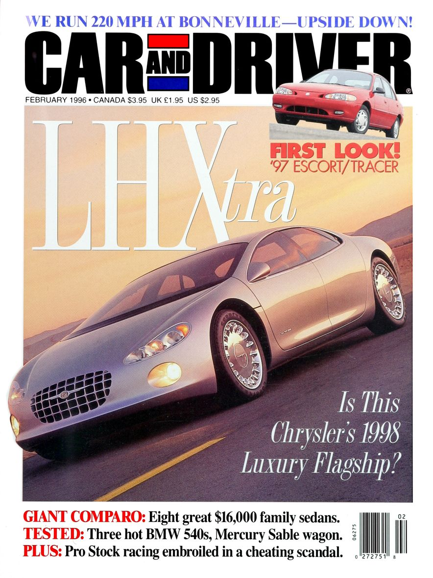 Formula C/D: The Car and Driver Covers of the 1990s - Slide 75