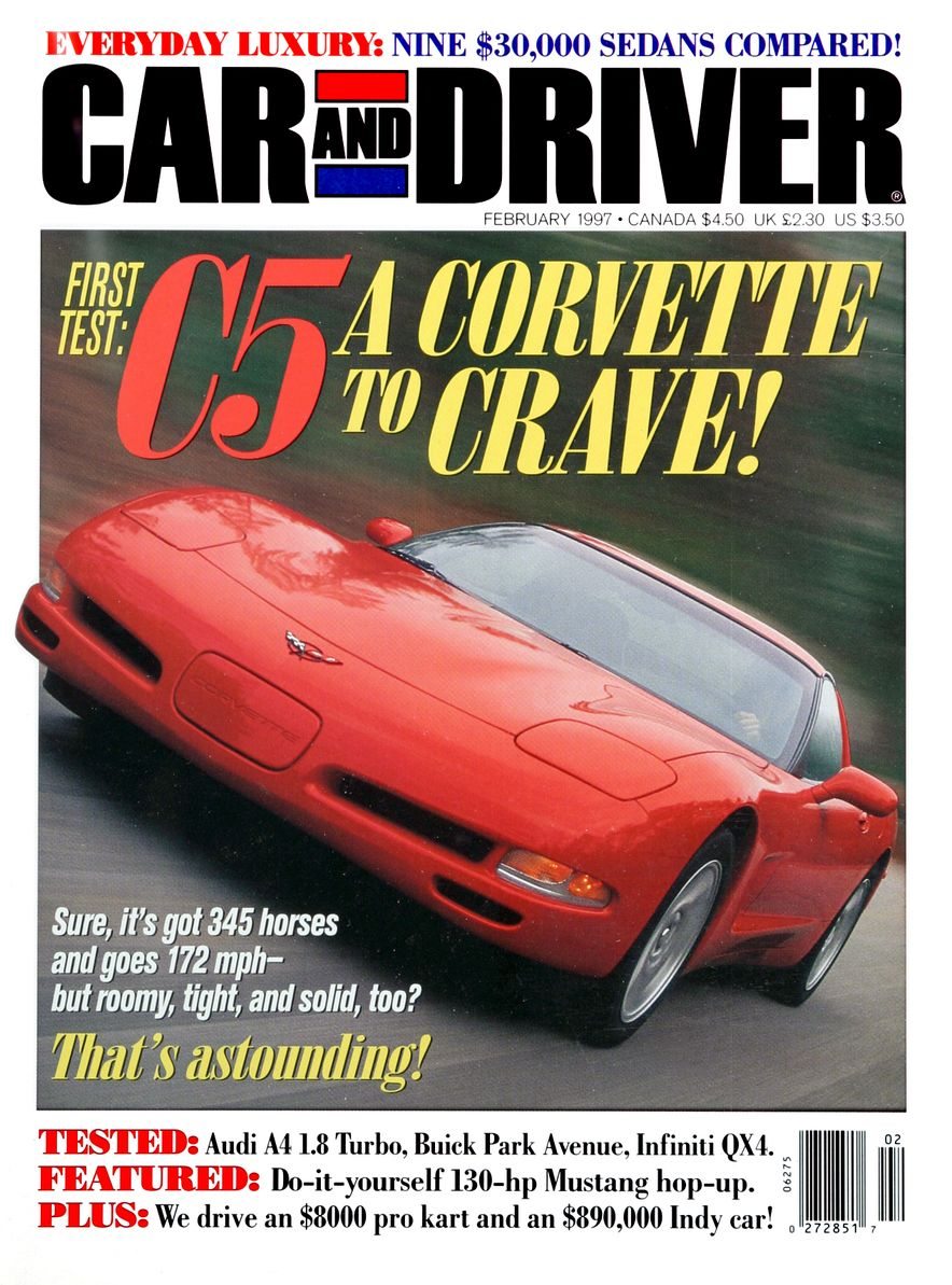 Formula C/D: The Car and Driver Covers of the 1990s - Slide 87