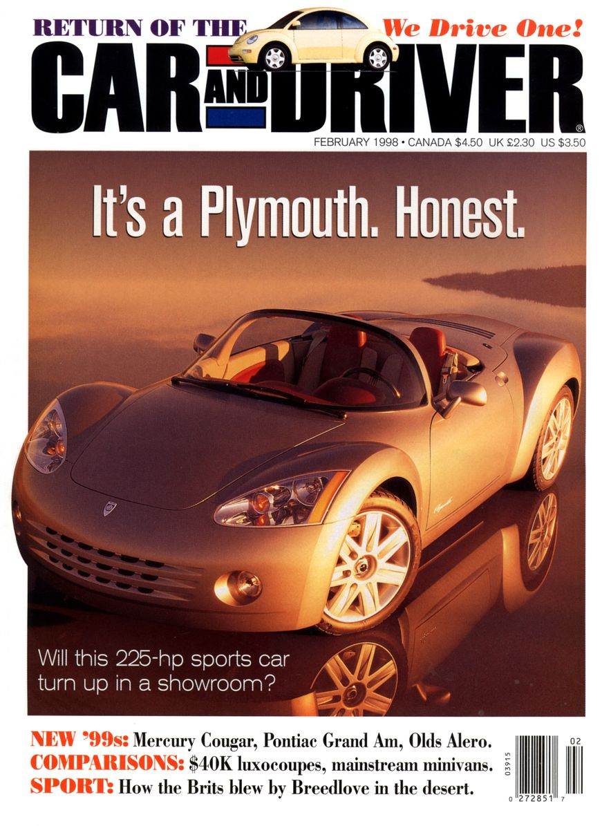 Formula C/D: The Car and Driver Covers of the 1990s - Slide 99