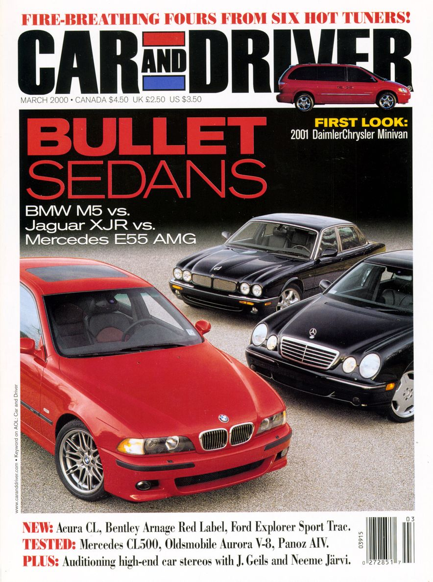 Going Millennial: The Car and Driver Covers of the 2000s and 2010s - Slide 4